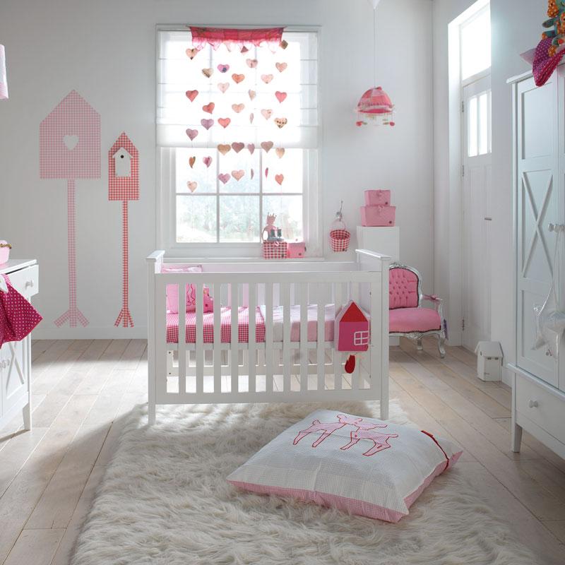 Babykamer Meisje Roze: Inspiratie voor de babykamer nieuws hippe mama ...